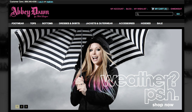 Abbey Dawn Clothing - by Avril Lavigne